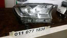 2016 Ford Ranger T7 RHS Xenon Projection Headlight