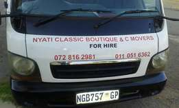 Nyati classice boutique and c movers