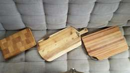 Solid Wooden Chopping / Cutting / Cheese Boards