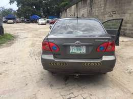 Super clean toyota corolla for sale 07 model first body buy an use