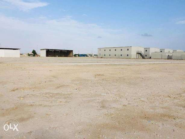 Land, Store and Labor camp for rent near to New Industrial area