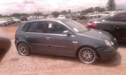 Vw polo 1.4 striping for spares