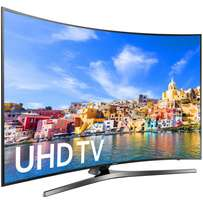 Samsung 55 inch couved smart tv