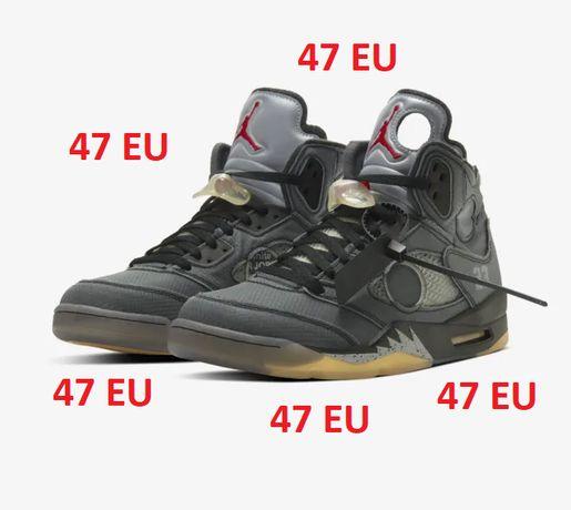 Nike Air Jordan 5 (V) Retro x Off White Black Poznań Stare