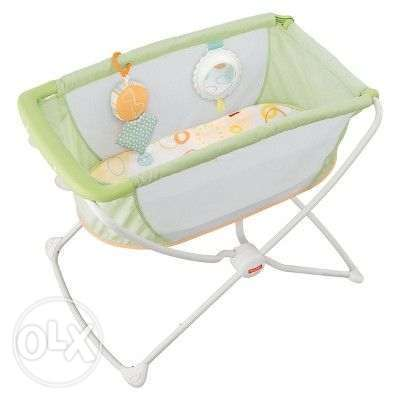 Basinet Fisher Price - Portable bed for babies سرير مولود سهل التنقل