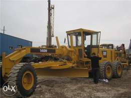Caterpillar Motor Grader 140H, Made in America, Construction Machine