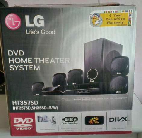 LG HT357SD 5.1 DVD Home Theatre System Lower Kabete - image 3