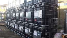 Black IBC's 1000 Litre Tank can be delivered call for delivery cost!!