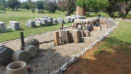 Paving Manufacture and Garden Pebbles Business