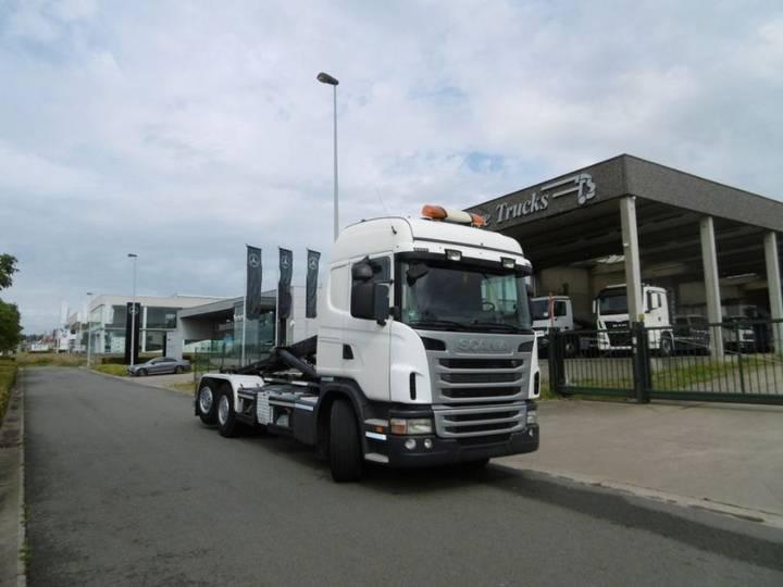SCANIA G420 6X2/4 - EURO 5 - 243.450 km - CONTAINERWAGEN - 2012