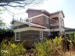 4 bedroom mainsonnett to let in Ongata Rongai