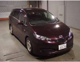 Toyota wish 2wd at 1.3m good offer for 2010model