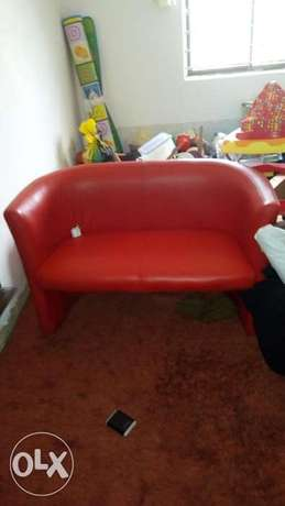 Red leather Chair for sale Aja - image 1