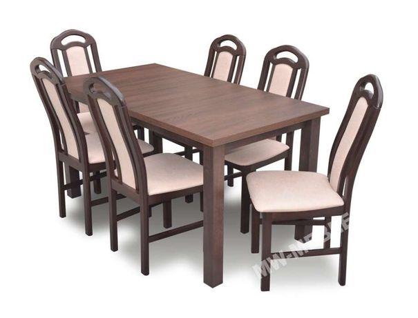 Stół 6 Krzeseł W Bogatej Kolorystyce Super Oferta