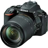 Nikon Camera D5500, 18-55mm lens Brand New with 2yr Warranty.Call Now