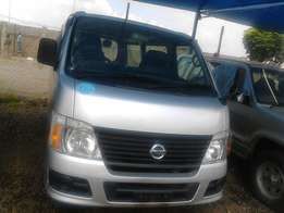 Nissan caravan none registered diesel engine auto higher purchase acpt