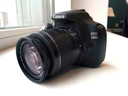 Camera : Canon 1200D available.