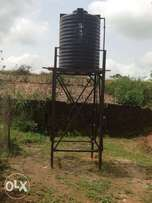 2000 Liters Gee Pee Tank and pure iron over head stand