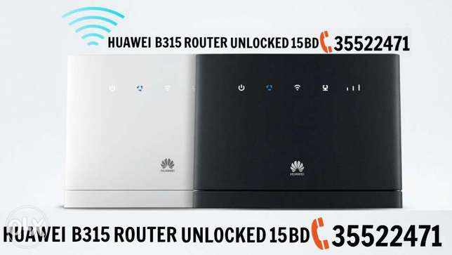 Huawei wifi router b315 unlocked 15 Bd any Gsm sim support
