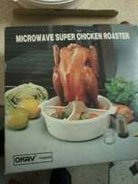 microwave chicken roaster