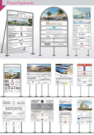 Billboard and Project Signboards