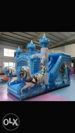 Bouncing castle (with a slide)for sale at only 148000 City Centre - image 1