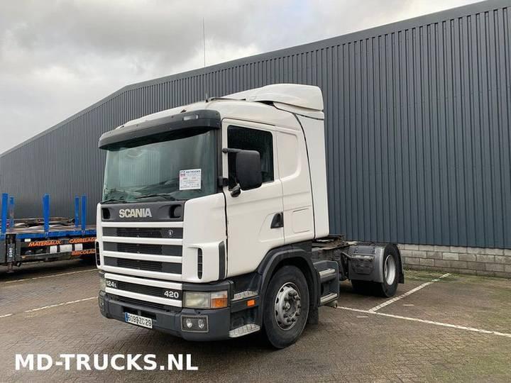 Scania 124 420 manual retarder - 2002