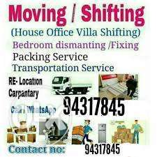 House/ shifting /services *)