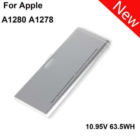 New Laptop Battery Replace For Apple A1280 A1278 Macbook 13 Inch MB466 Nairobi CBD - image 1