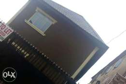 A very neat and standard 2bedroom flat at agege close 2 ile epo Lagos.