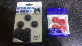 Pack of 4 Thumb Grips Black and Red New