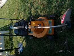 Lawnmower and weedheater