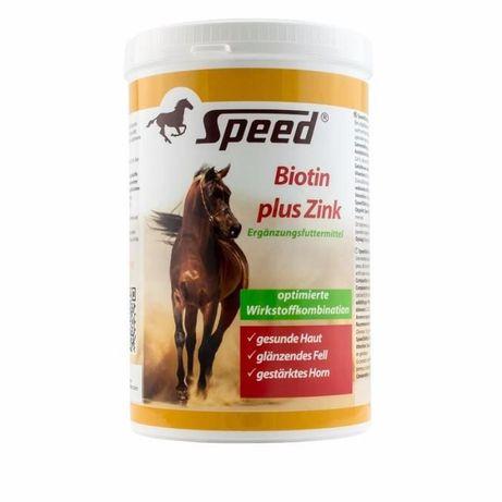 Genialny Speed Biotin plus Zink - Biotyna plus Cynk dla koni - Kopyta i KG36