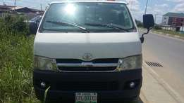 Clean Registered Toyota Hiace Hummer Bus Diesel