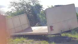 Flat deck body for sale