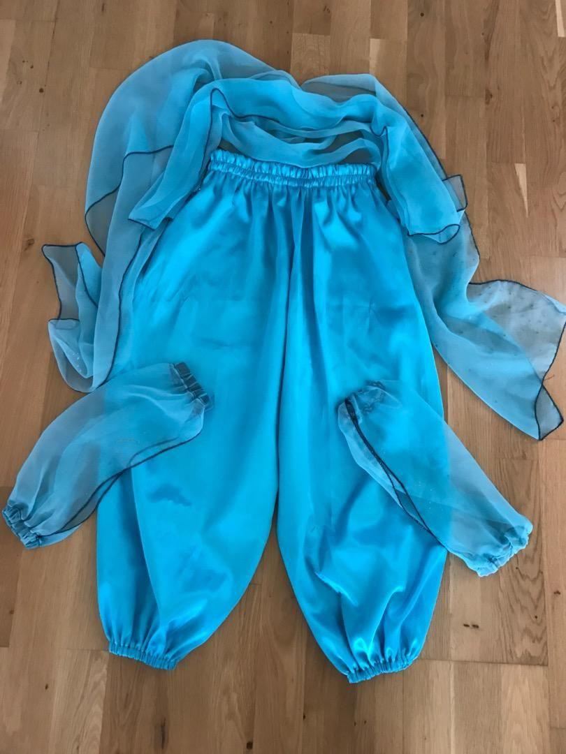 2cfe30b5aae Kostým na břišní tance dívčí 7-10let. Saténové kalhoty