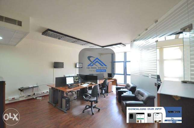 office with furniture for rent cash حازمية -  4