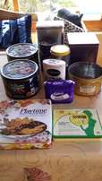 TINS - some old, some new - great as a gift with some lovely goodies!!
