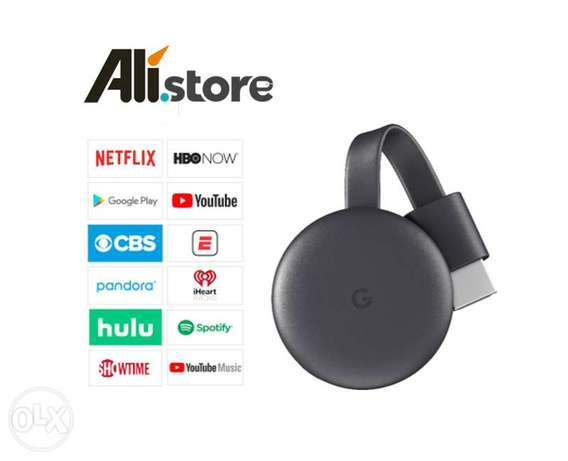 New Version Google Chromecast HDMI Streaming – TV Dongle (Original)