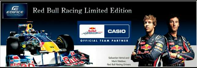 Casio Edifice F1 Redbull Edition new in box, retail R5500. Umhlanga - image 7