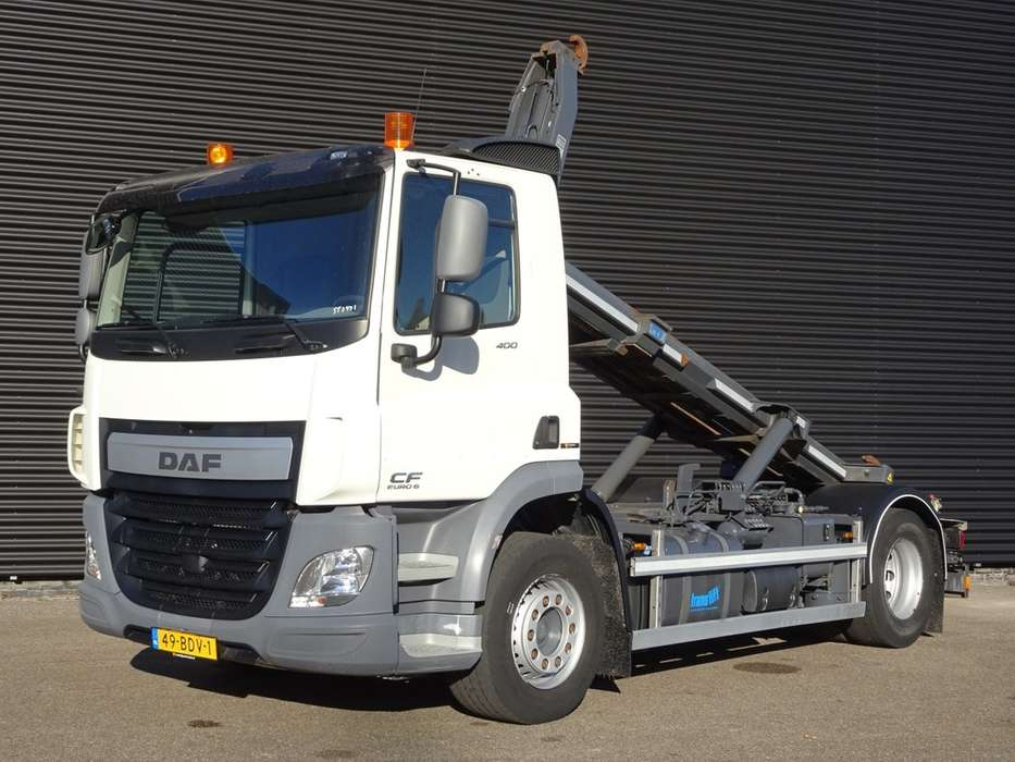 DAF CF 400 EURO 6 HAAK ARM / CONTAINER SYSTEEM 71.DKM! - 2014