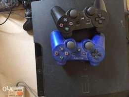 Neat Hacked PlayStation 3 with 2pads