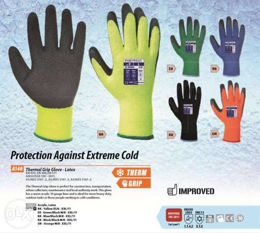 Protection Against Streme Cold Safety Gloves