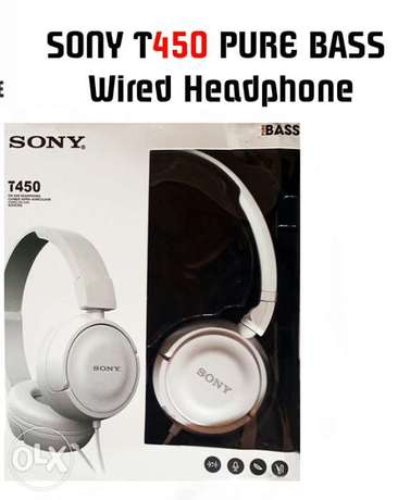 Sony T450 wired headphone