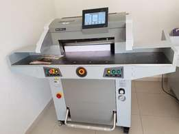 Smart Hydraulic System Paper Cutter Guillotine Now In Our Johannesburg