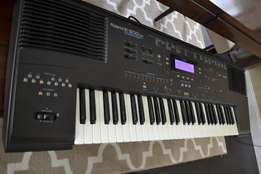 The music e500 rd with stand for sales