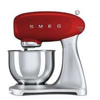 Smeg Red Mixer with matching red blender