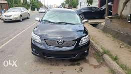 Toyota Corolla 2009 Model Very Clean Perfectly Condition Lagos Clear