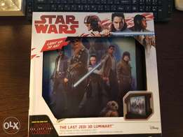 Star wars light up 3d art from disney toy christmass