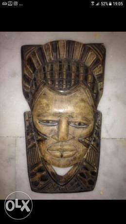For sale wood mask